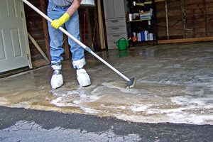 Concrete Steam Cleaning