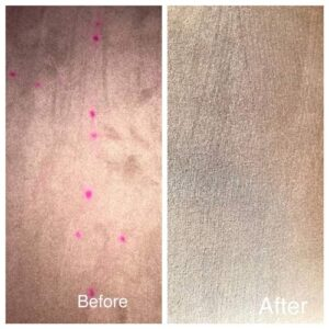carpet cleaning before ad after